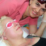 Удаление перманентного макияжа и татуировок